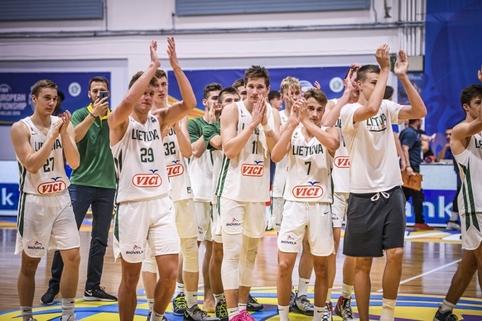 Lietuva – Didžioji Britanija (U18)