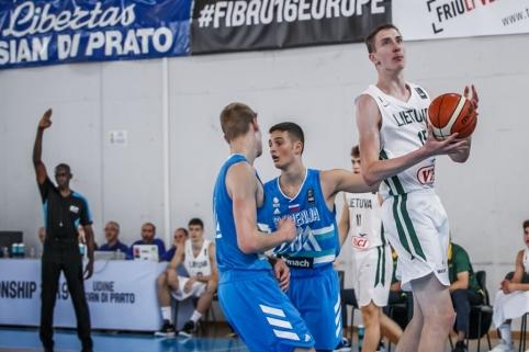 Lietuva – Slovėnija (U16) (9 vieta)