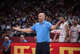 A. Džordževičius traukiasi iš Serbijos rinktinės trenerio pareigų