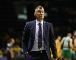 """Žaidėjų kovingumu pasidžiaugęs Š. Jasikevičius: """"Nepasinaudojome savo šansais"""""""