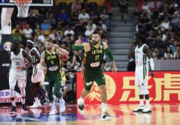 Galingai Pasaulio taurėje startavusi Lietuva nepaliko jokių šansų Senegalo rinktinei