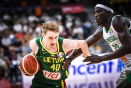 """Puikia nata čempionatą pradėjęs M. Grigonis: """"Senegalas atrodė gana vangiai"""""""