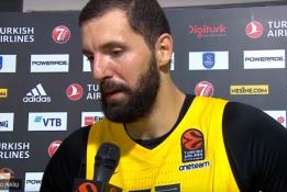 Brangiausias Eurolygos žaidėjas N. Mirotičius susižers neįtikėtiną sumą