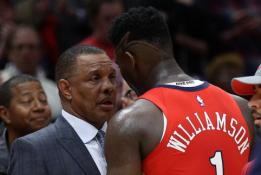 """""""Pelicans"""" strategas: Zionas manęs maldavo, kad jo nepakeisčiau"""