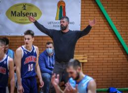 R. Šližys tapo RKL mėnesio treneriu