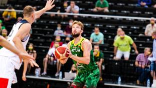 Lietuvos rinktinė sutriuškino Rusijos ekipą