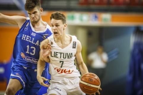 Lietuvos U16 rinktinė Europos čempionate krito aštuntfinalyje