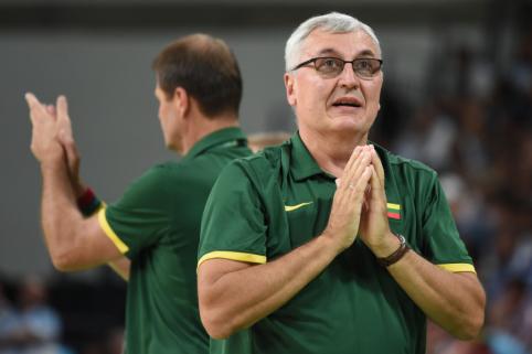 J. Kazlauskas – apie trenerio karjeros pradžią, palyginimus su Š. Jasikevičiumi ir augantį jaunimą