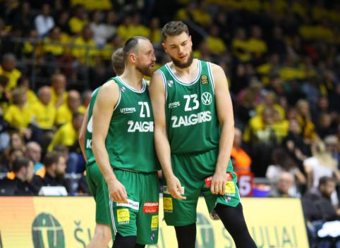 """Prakeiksmas tęsiasi: """"Žalgiris"""" sezoną Eurolygoje pradėjo nesėkme prieš """"Baskonia"""""""