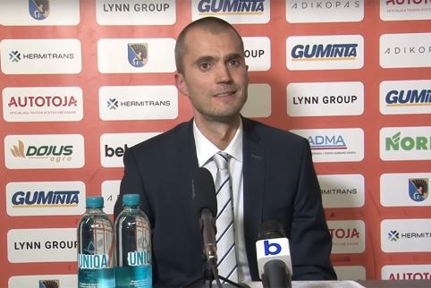 """M.Kiltinavičius: """"Varžovai galvojo apie nesudėtingą pergalę, o mūsų žaidėjai ėjo kaip į karą"""""""