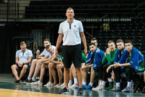 """Š. Jasikevičius: """"Žaidėjai stengiasi, treniruojasi ir einame toliau į priekį"""""""