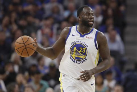 """""""Warriors"""" svarsto išmainyti D. Greeną į NBA žvaigždę"""