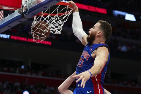 """Išgijęs B.Griffinas prisijungė prie """"Pistons"""""""