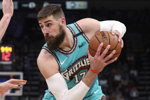 J. Valančiūnas – tarp geriausių NBA vidurio puolėjų