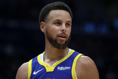 S. Curry savo kailiu patyrė naują NBA taisyklę