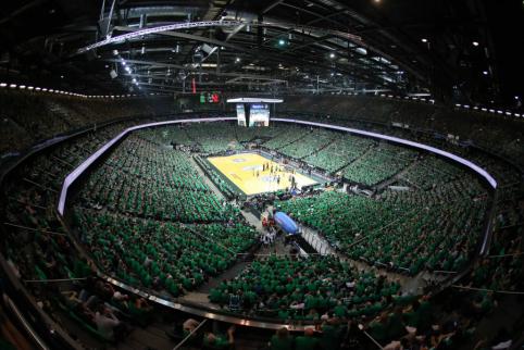 """Įsigytas bilietas negarantuos patekimo į pirmąsias Eurolygos rungtynes """"Žalgirio"""" arenoje"""