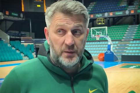 """D. Maskoliūnas: """"Žaidėjai jau tikrai yra pasiilgę kamuolio"""""""