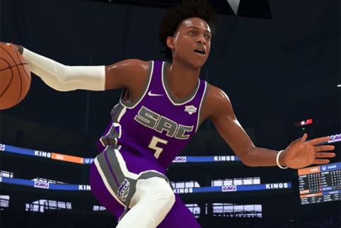 """""""Kings"""" įžaidėjas: NBA 2K20 žaidimas - šlamštas"""