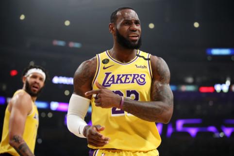 """Ch. Barkley: """"Jei """"Lakers"""" triumfuos NBA, tai įvyks ne dėl LeBrono"""""""