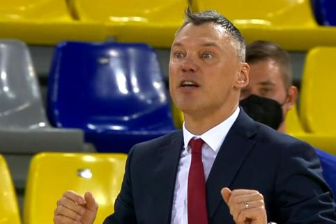 V. Čeponis išanalizavo, kodėl Š. Jasikevičius pralaimėjo Eurolygos finalą